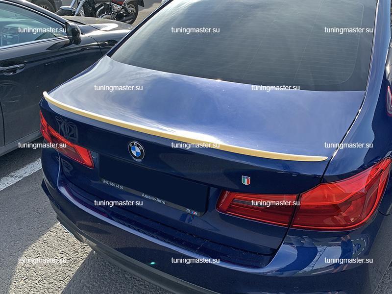 Спойлер на крышку багажника BMW G30