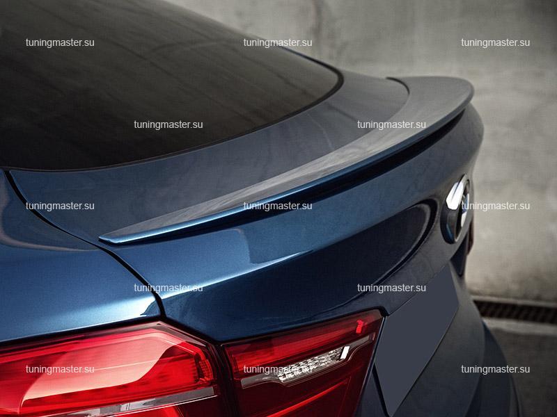 Спойлер на крышку багажника BMW X6 F16