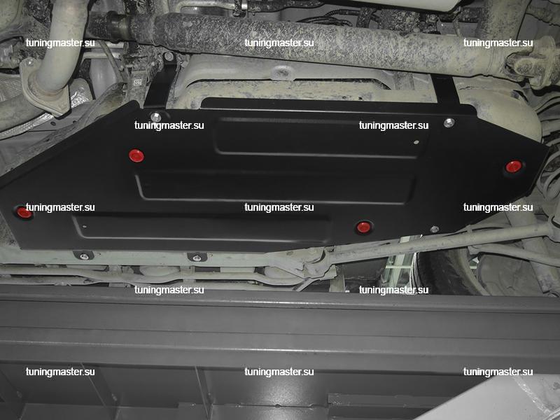 Защита топливного бака Toyota Land Cruiser 200