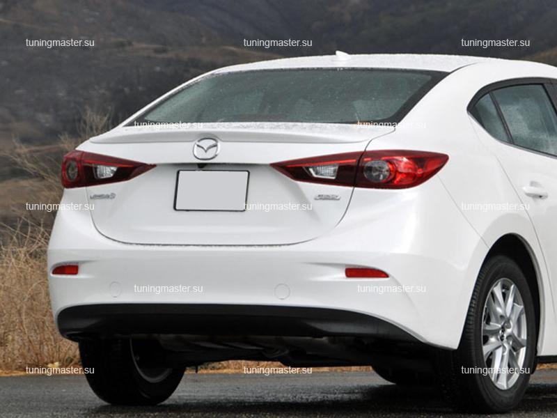 Спойлер на крышку багажника Mazda 3 BM