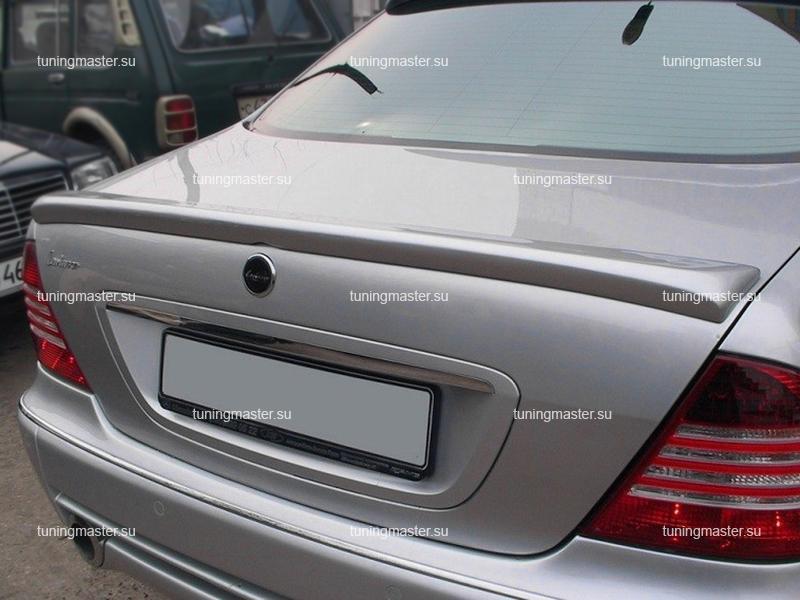 Спойлер на крышку багажника Mercedes Benz W220