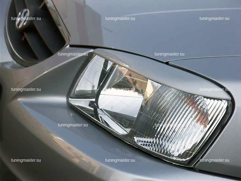 Накладки на фары Hyundai Accent