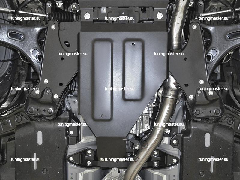 Защита КПП Subaru Forester 5