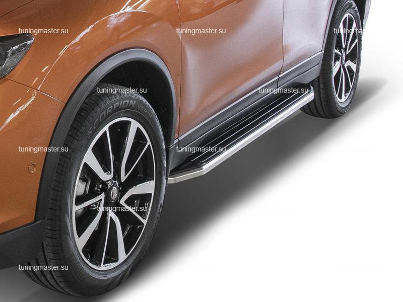 Пороги Nissan X-Trail T32 Рестайлинг (Premium)