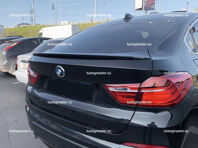 Спойлер на крышку багажника BMW X4 F26