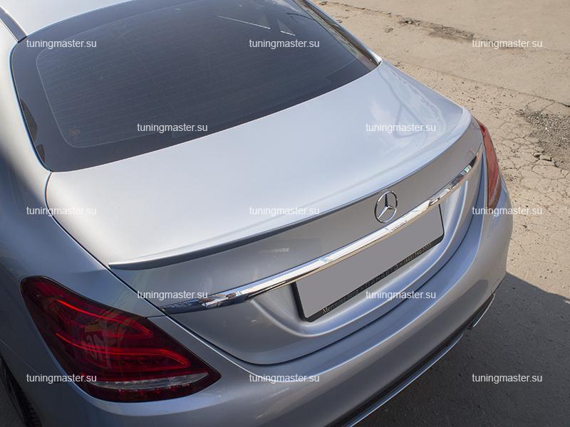 Спойлер на крышку багажника Mercedes Benz
