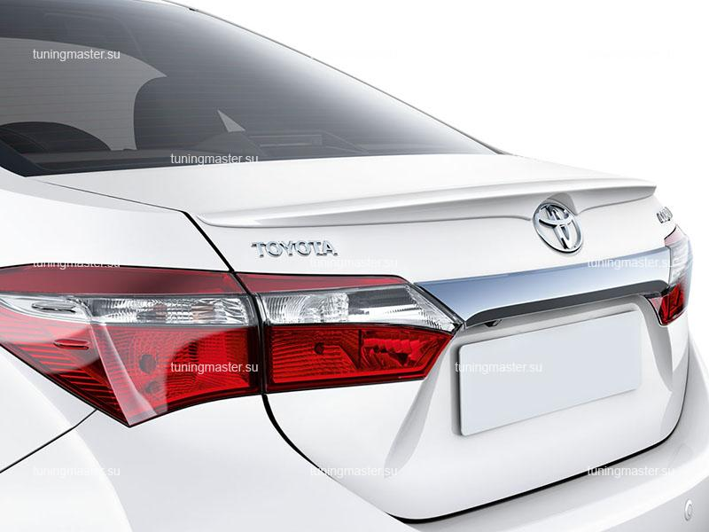 Спойлер на крышку багажника Toyota Corolla E16 S