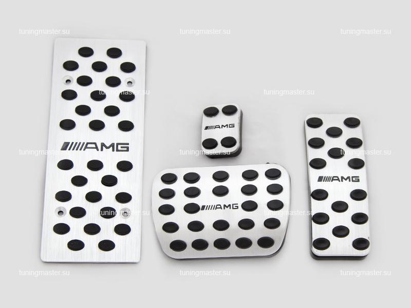 Накладки на педали Mersedes Benz с логотипом AMG