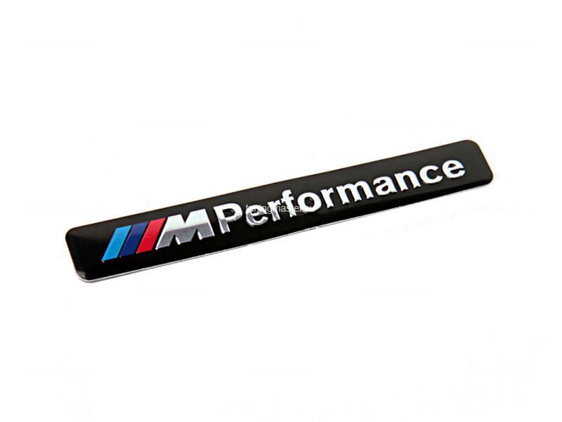 Эмблема на крыло M-performance black для BMW (универсальная)