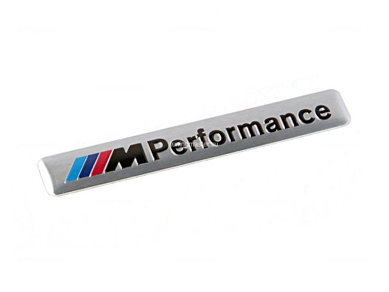 Эмблема на крыло M-performance для BMW (универсальная)