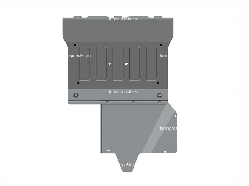 Защита картера и КПП Mercedes Benz Vito W447 (алюминиевая) полный привод