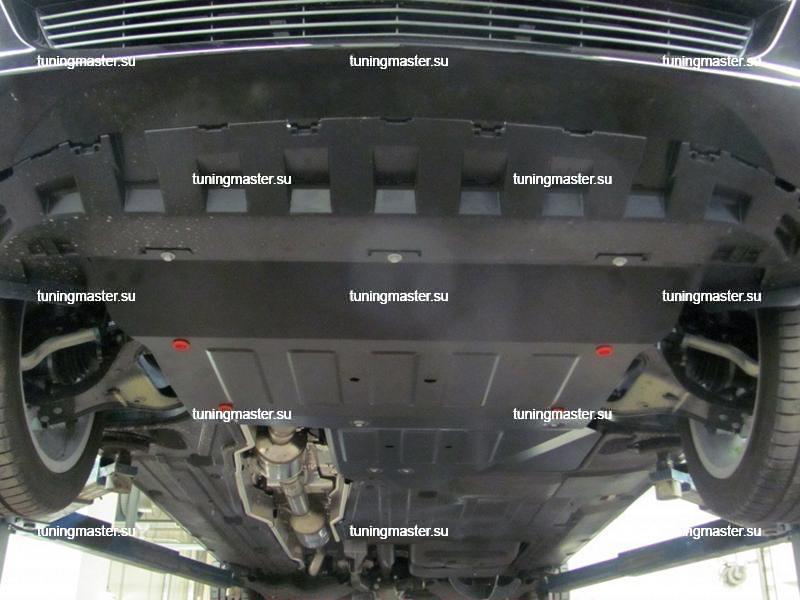 Защита картера и КПП Mercedes Benz Vito W447 полный привод