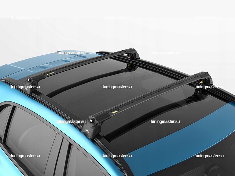 Багажник на рейлинги Turtle (AIR2) Black