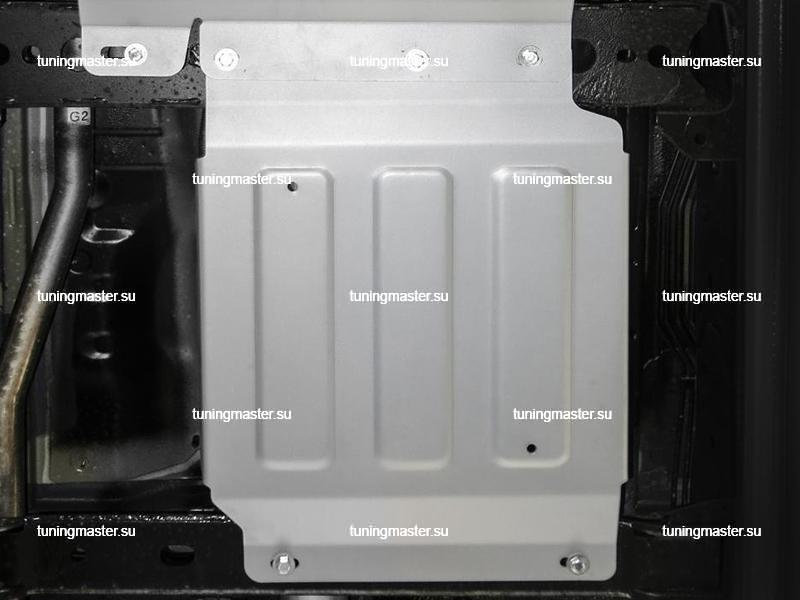 Защита раздаточной коробки Mercedes Benz X-Class (алюминиевая) риваль