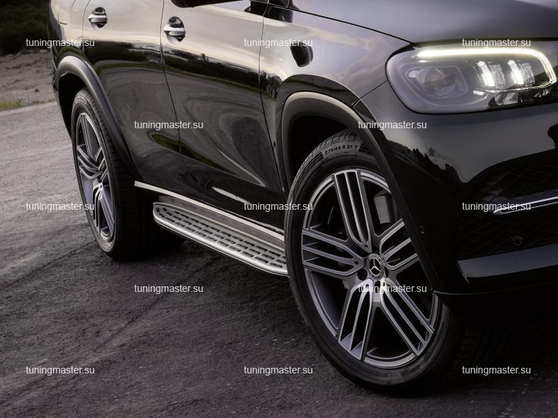 Пороги Mercedes Benz GLS X167 (Original Style)