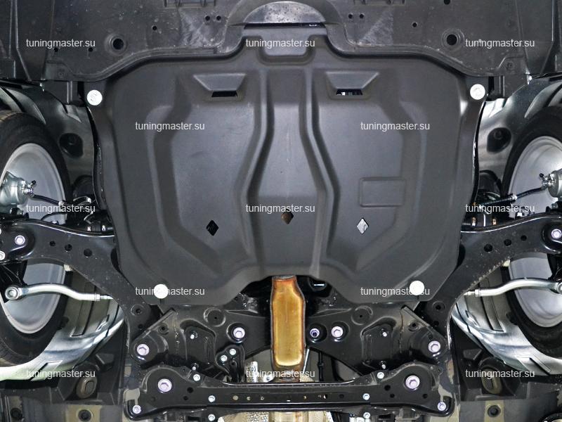 Композитная защита картера Toyota Camry XV70