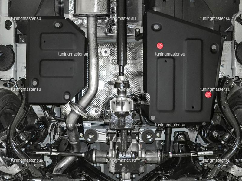 Защита топливного бака Haval F7x