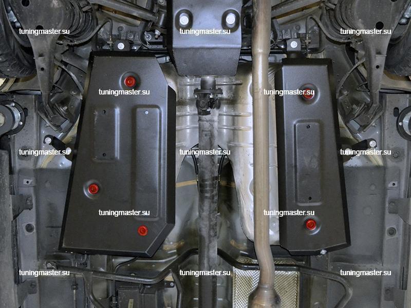 Защита топливного бака Haval H2