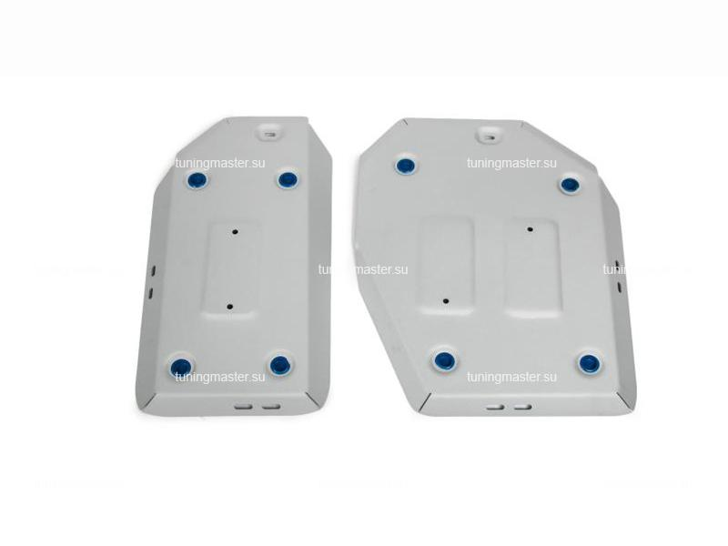 Защита топливного бака Toyota RAV4 XA50 (алюминиевая)