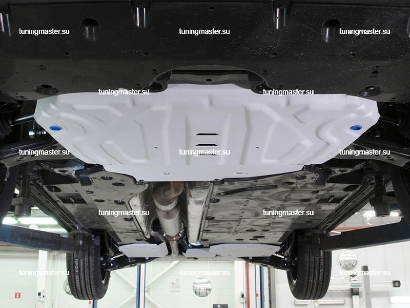 Комплект защит двигателя для Toyota RAV4 XA50 (алюминиевая)
