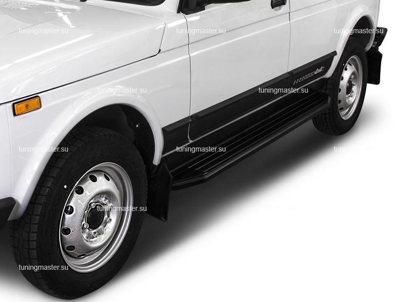 Пороги Lada Niva 5D (Premium Black)