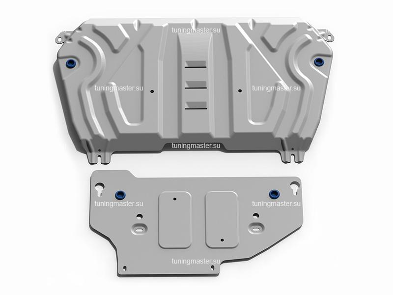 Защита картера и КПП Toyota RAV4 XA50 (алюминиевая)