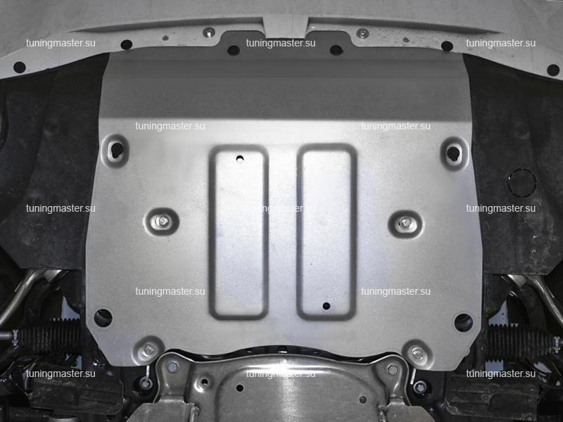 Защита радиатора и картера BMW X5 G05 (алюминиевая)