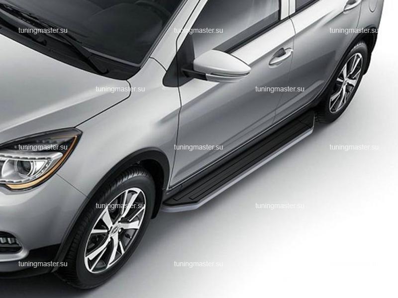 Пороги Lifan X50 (Premium)