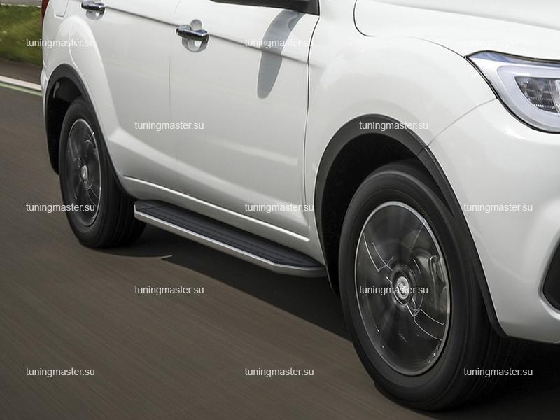 Пороги Lifan X60 (Premium) рестайлинг