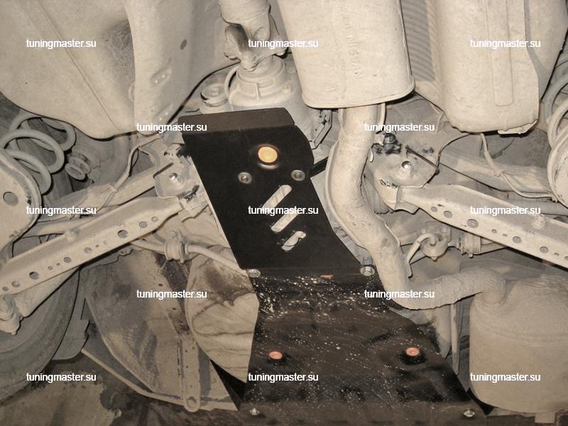 Защита редуктора заднего моста для Renault Koleos