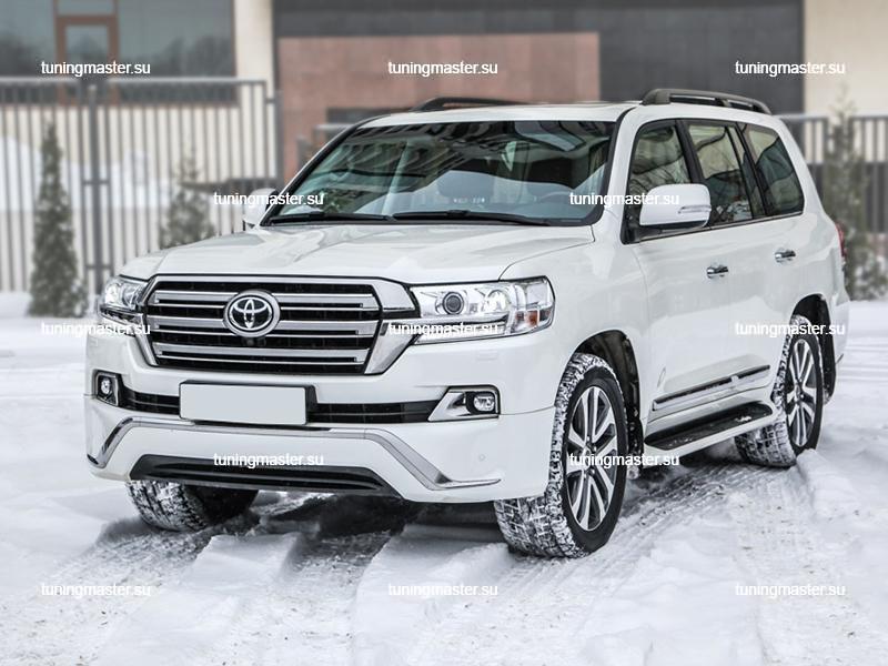 Аэродинамический обвес Executive White для Toyota Land Cruiser 200 (3)