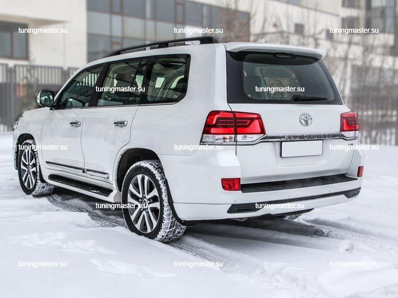 Аэродинамический обвес Executive White для Toyota Land Cruiser 200 (4)