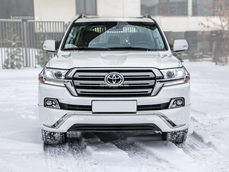 Аэродинамический обвес Executive White для Toyota Land Cruiser 200