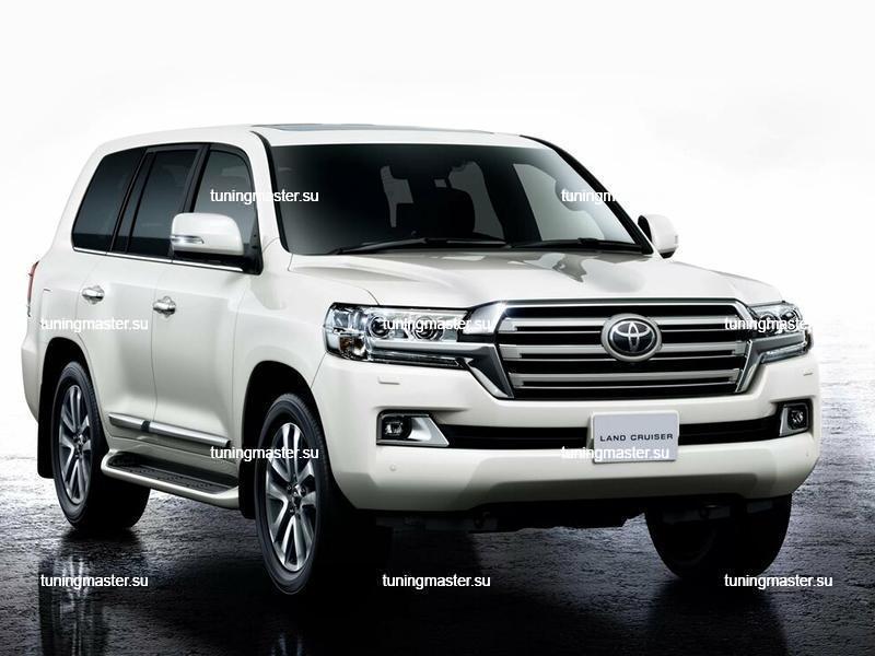 Комплект для рестайлинга Toyota Land Cruiser 200 (Стиль 2016)