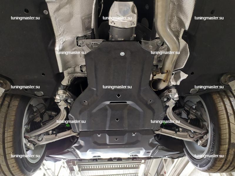 Композитная защита картера и КПП Audi Q8