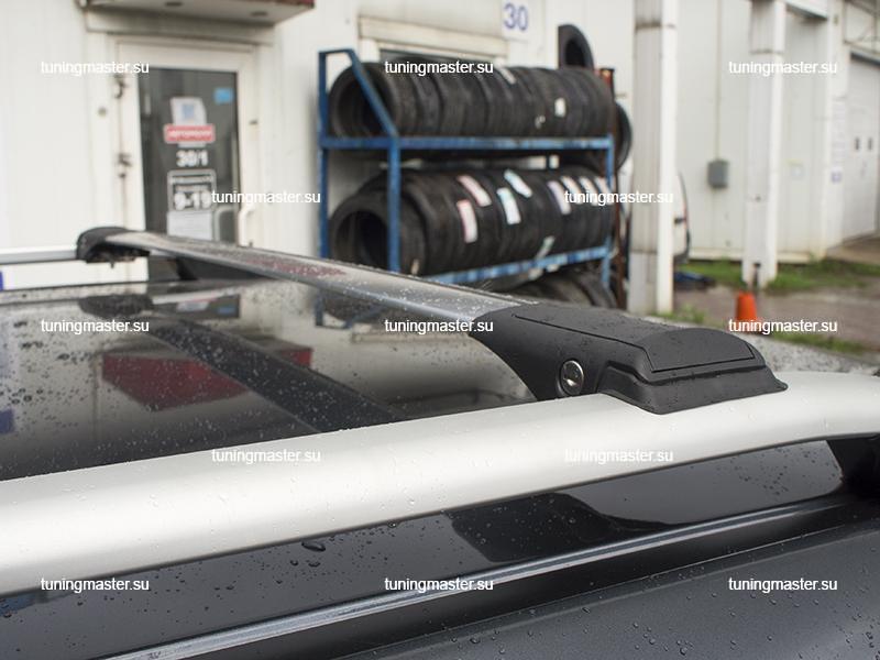 Багажник на рейлинги Turtle Shark (Siver)