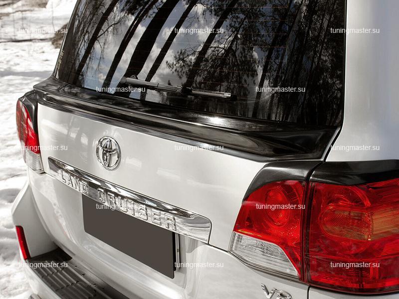 Спойлер крышки багажника Toyota Land Cruiser 200