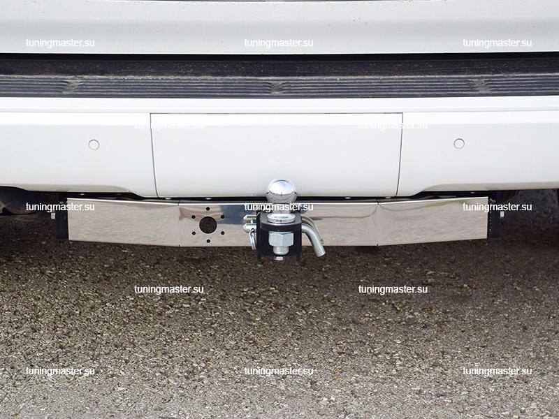 Фаркоп Toyota Land Cruiser 200 с хром накладкой (быстросъемный) 1