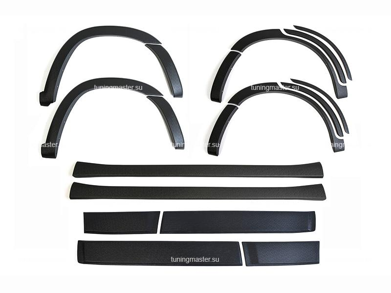 Защитный комплект для тюнинга кузова Chery Tiggo T-11