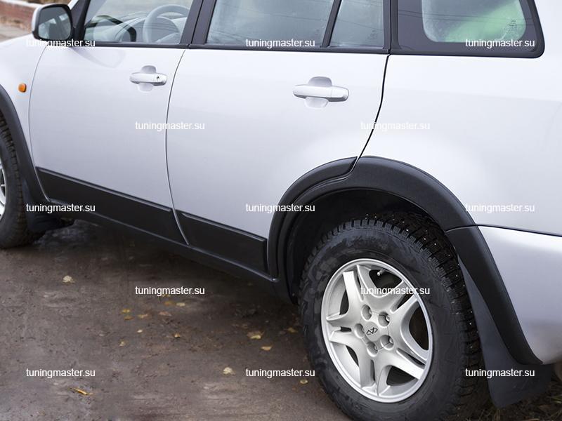 Защитный комплект для тюнинга кузова Chery Tiggo T11