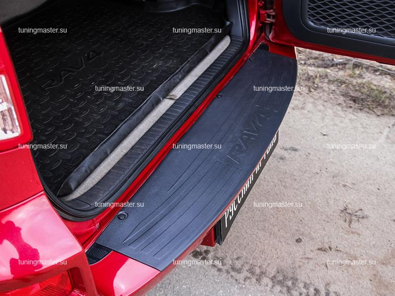 Накладка на задний бампер Toyota Rav 4 XA30 (пластик)