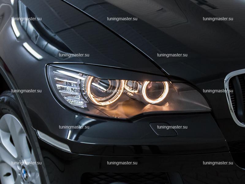 Накладки на фары BMW X6 (E71)