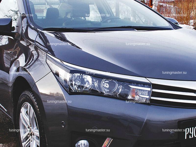 Накладки на фары Toyota Corolla E16