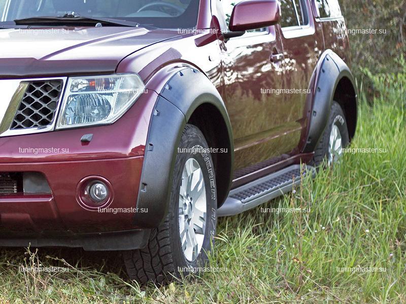 Расширители колесных арок Nissan Pathfinder R51