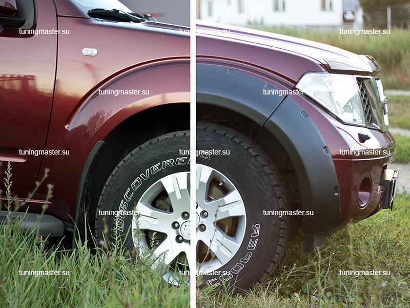 Расширители колесных арок Nissan Pathfinder