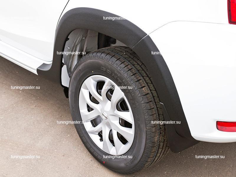 Расширители колесных арок Nissan Terrano