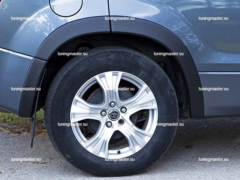 Расширители колесных арок Suzuki Grand Vitara (пластик) 1