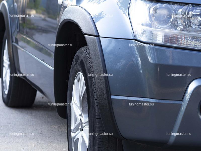 Расширители колесных арок Suzuki Grand Vitara (пластик)