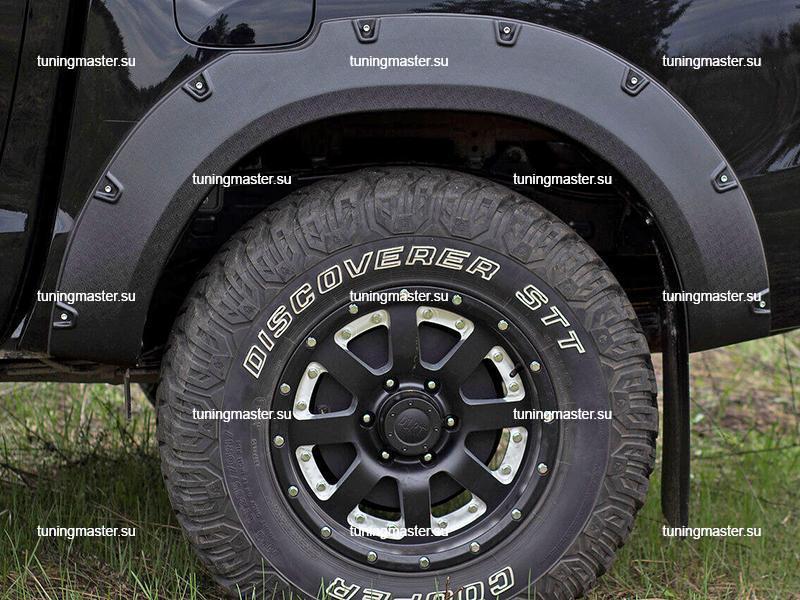 Расширители колесных арок Toyota Hilux (вынос 50 мм) 1