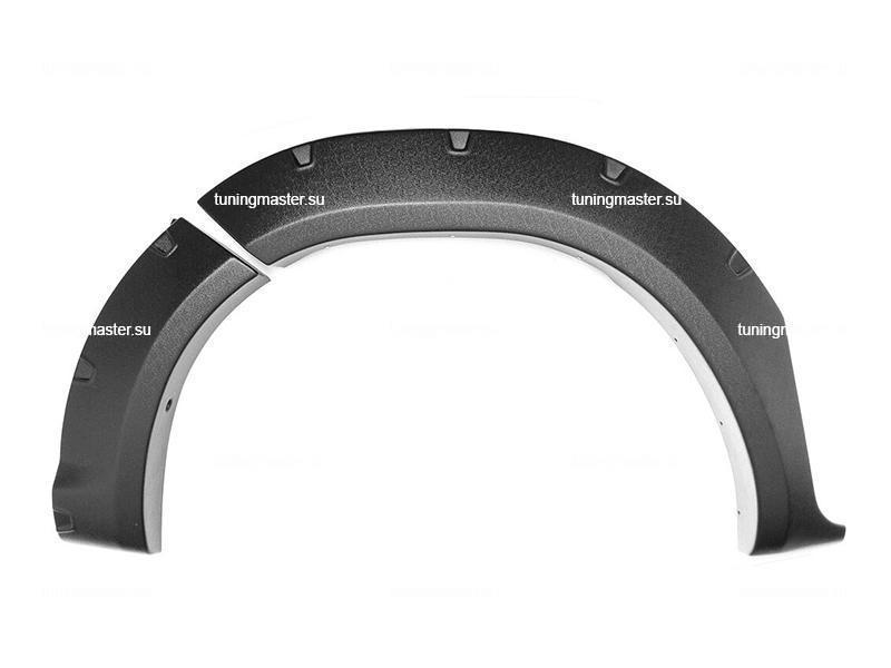 Расширители колесных арок Toyota Hilux (вынос 50 мм) 2